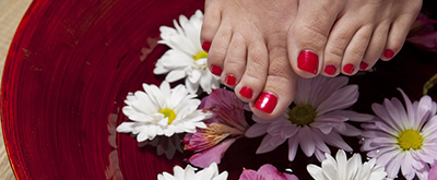 Fußpflege - Ledis First